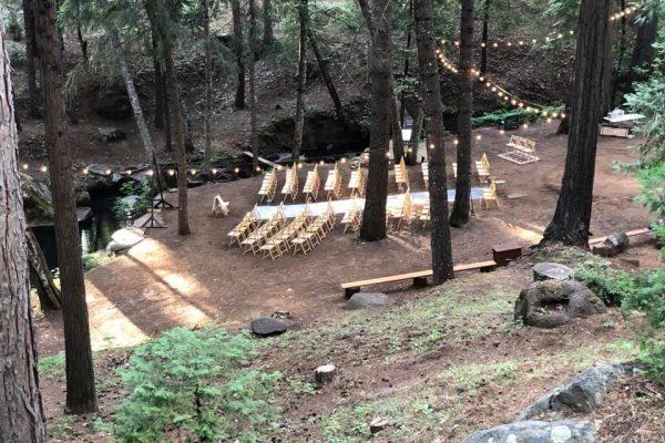 sierra foothills wedding venue